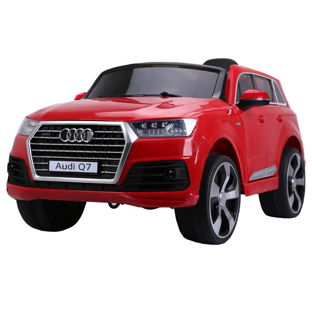 12v ride on car kids electric cars for children drive audi license