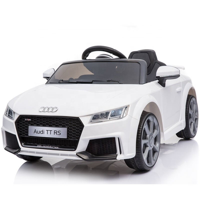 Kids electric cars 12V AUDI licensed ride on car child drivable toy car
