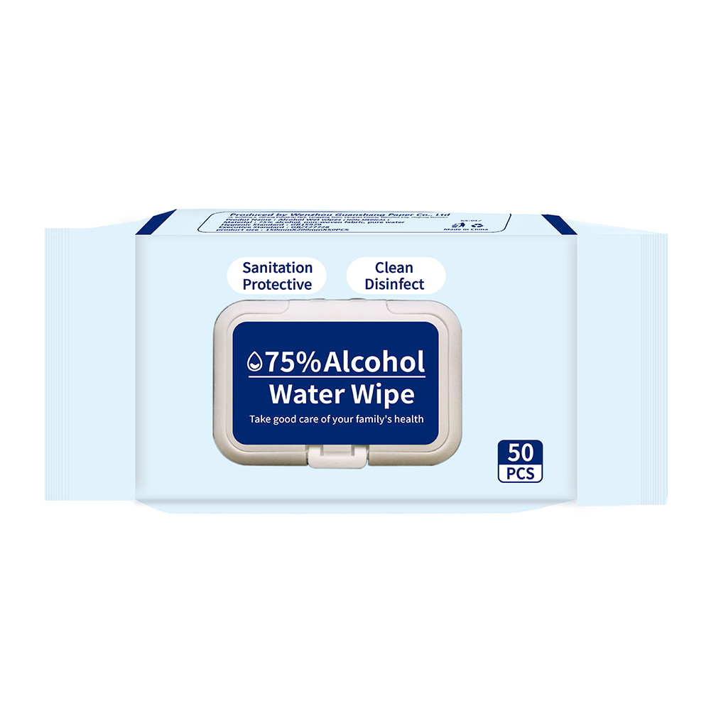 Wholesale Alcoholic Disposable Antibacterial Individual Hand Wipes