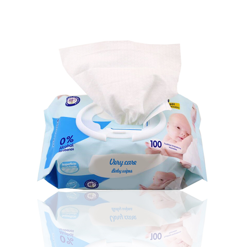 Oem Organic Chemical Free Baby Wet Wipes, Cotton Baby Water Wipes Wet Wipes