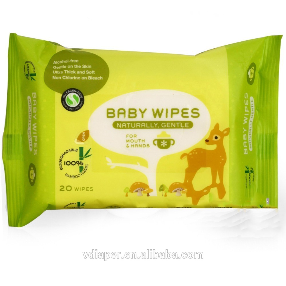 Factory Wholesale Private Label Dry Baby Wipes