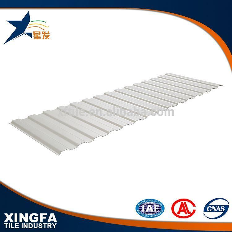 Factory price transparent upvc roof tile