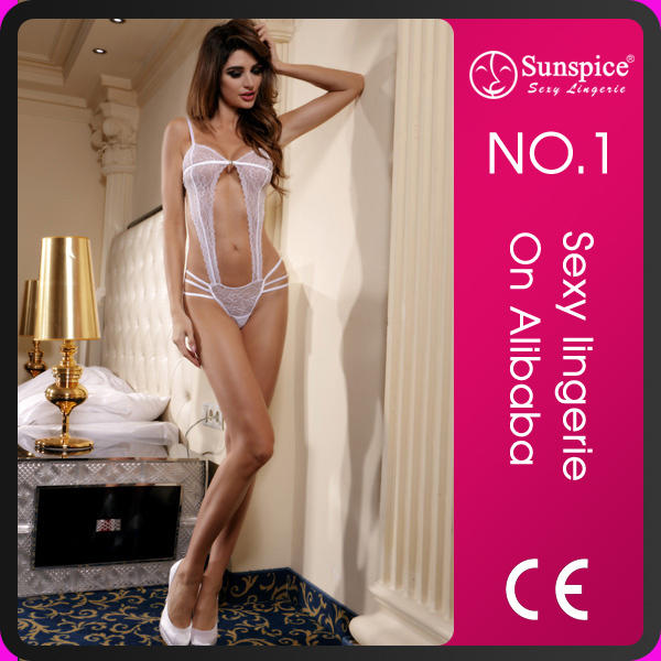 2020 One Piece Transparent Erotic Underwear Sexy Bridal Nighty