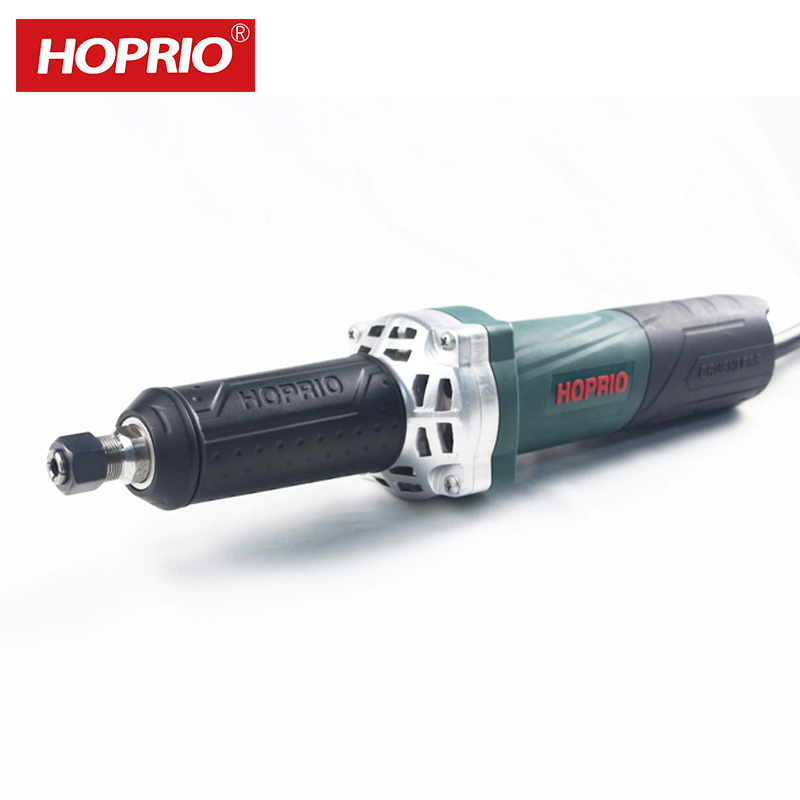 HOPRIO 1050W 6mm 6.35mm 8mmBrushless Power Tools Straight Grinder Angle Die Grinder