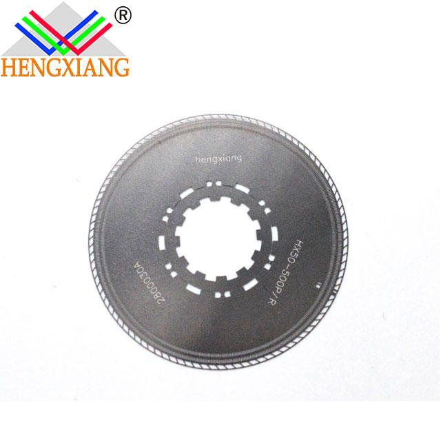 stainless steel Metal Encoder disc code for incremental encoder optical encoder disk