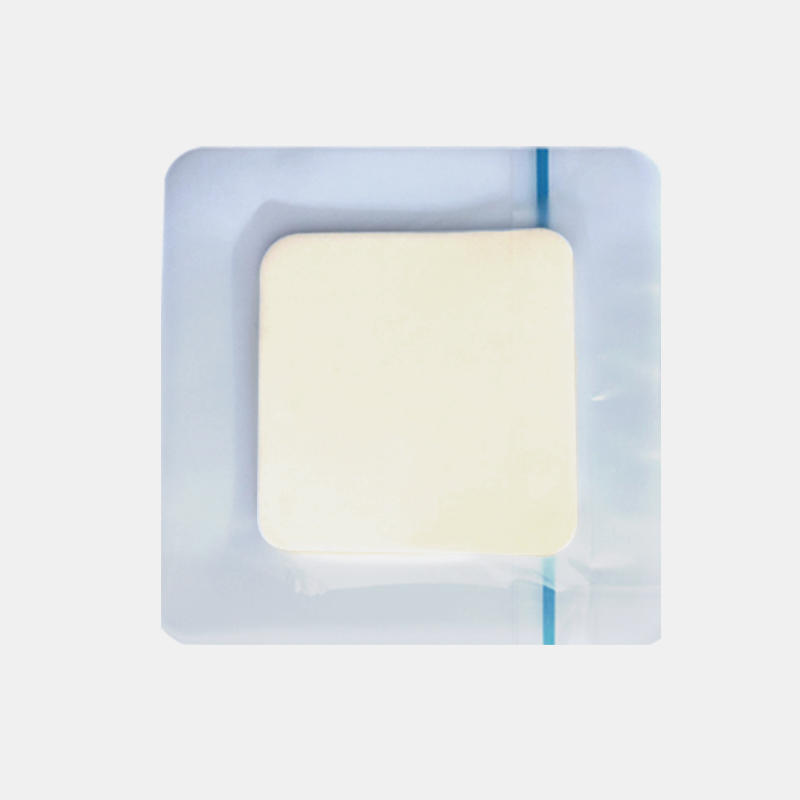 Self Adhesive Wound Foam Dressing Transparent Padding Hydrocellular Foam Dressing