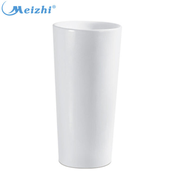 China bathroom basin one piece floor mounted wash basin
