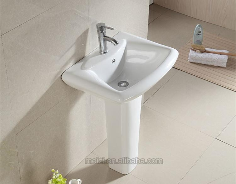 Popular ceramic pedestalhand wash basin price