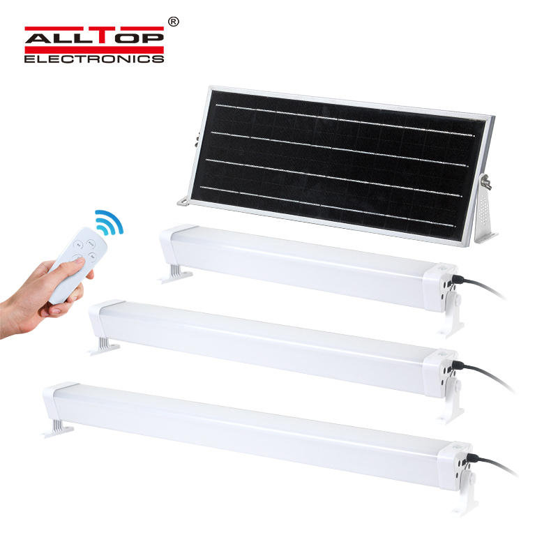 ALLTOP High quality USB charge PIR sensor residential lighting smd 20w 40w 60w led solar tri proof light