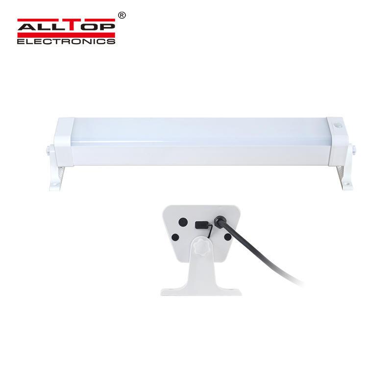 ALLTOP Aluminum PC housing PIR sensor 180PCS 6000K smd 20w 40w 60w solar led tri proof light
