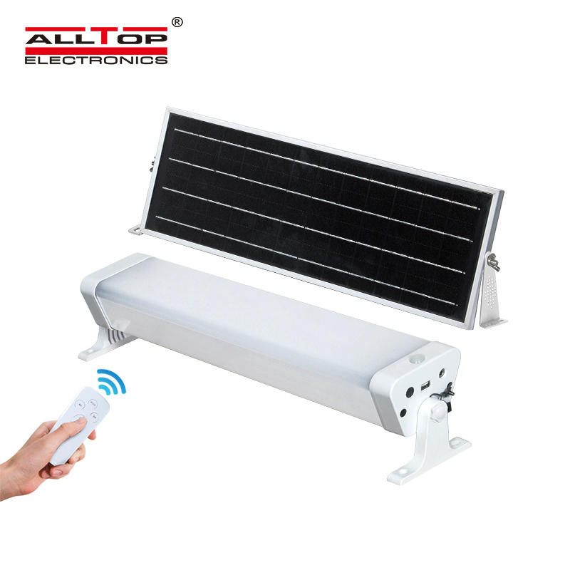 ALLTOP Aluminum PC housing PIR sensor 180PCS 6000K smd 20w 40w 60w solar led tri proof light