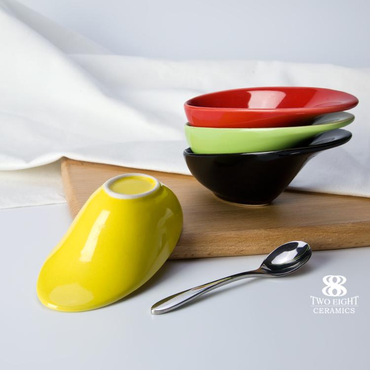 chaozhou fengxi porcelain buffet dinner color dish 5