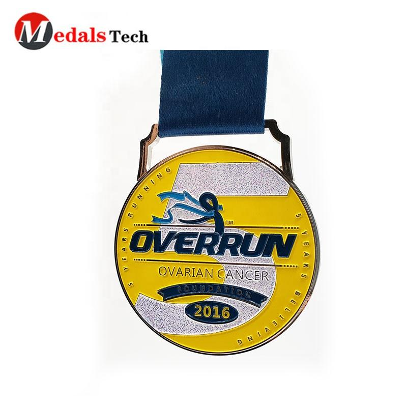 2020 customized metal race medal,premier league medal
