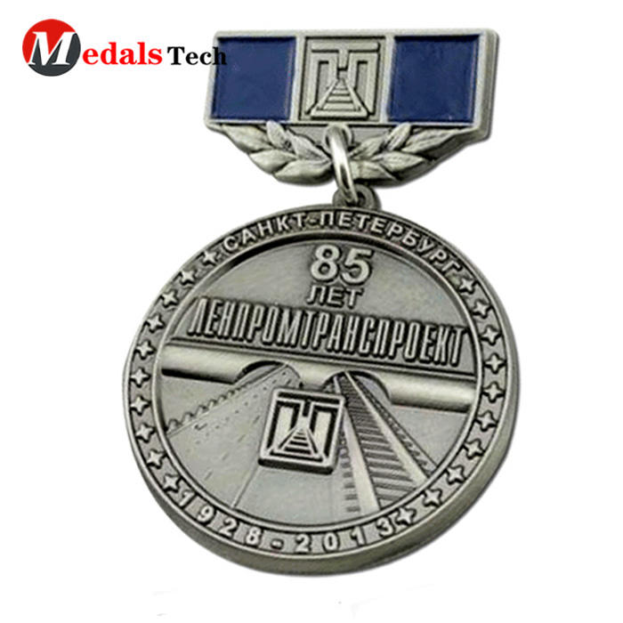 Cheap custom antique silver make bicycle running custom 3d metal sport medal