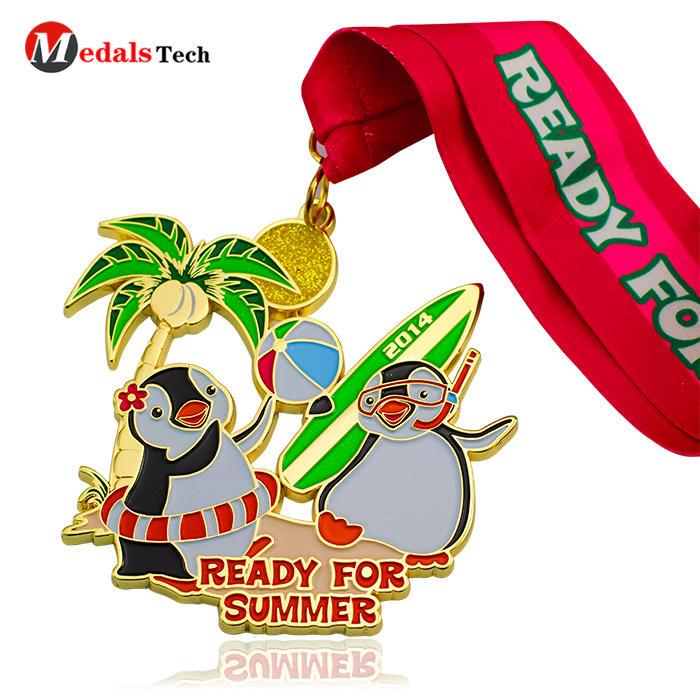 High quality cheap custom finisher antique plating award custom marathon medal metal medal 3d