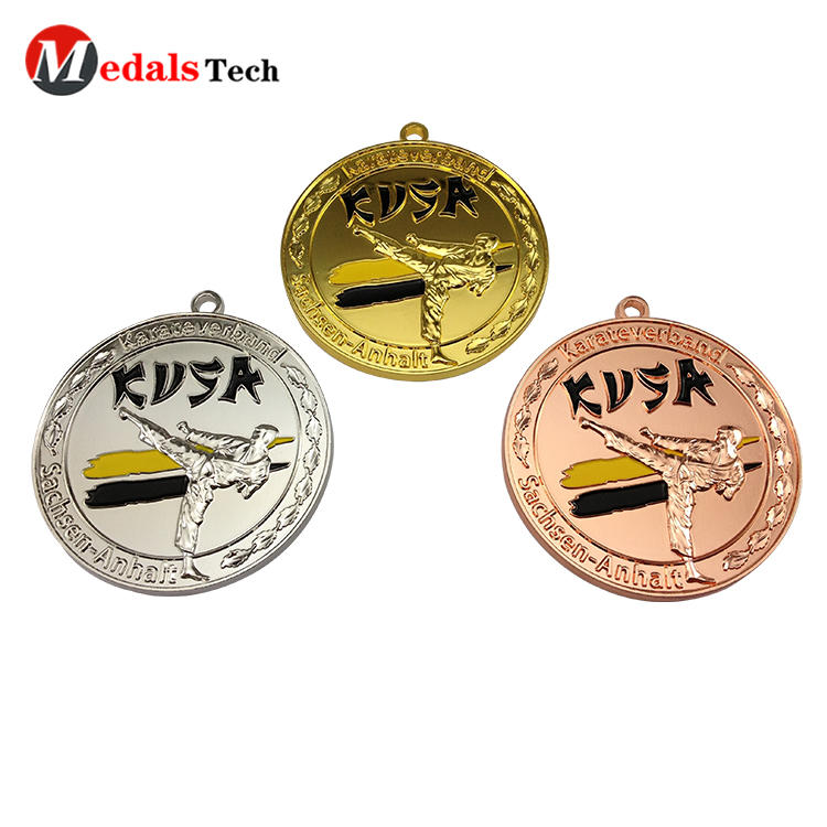 2020 personalized design color filled online marathon virtual running medals