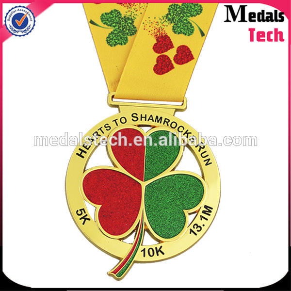 Customized silver plating 3d logo bicycle running custom 3d sport metal cycling medal
