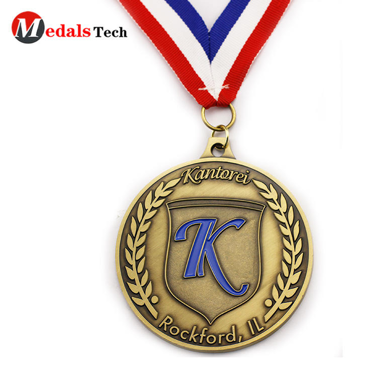 Hot selling brand run activities antique silver sports finisher cut out event beer bottle opener medal