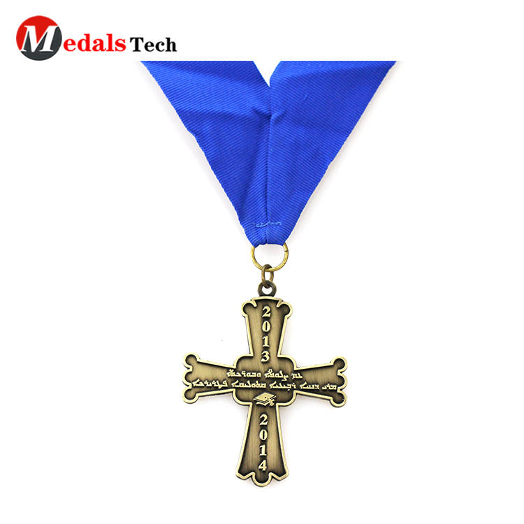 Dongguan promotional custom finisher award old sports cheap custom design gold sliver bronze martial arts metal medals