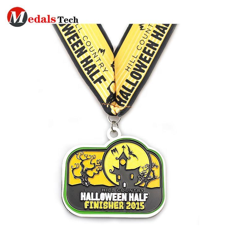 2020 Saints' Day stimulus death night run finisher 10k marathon hard enamelled custom military medal