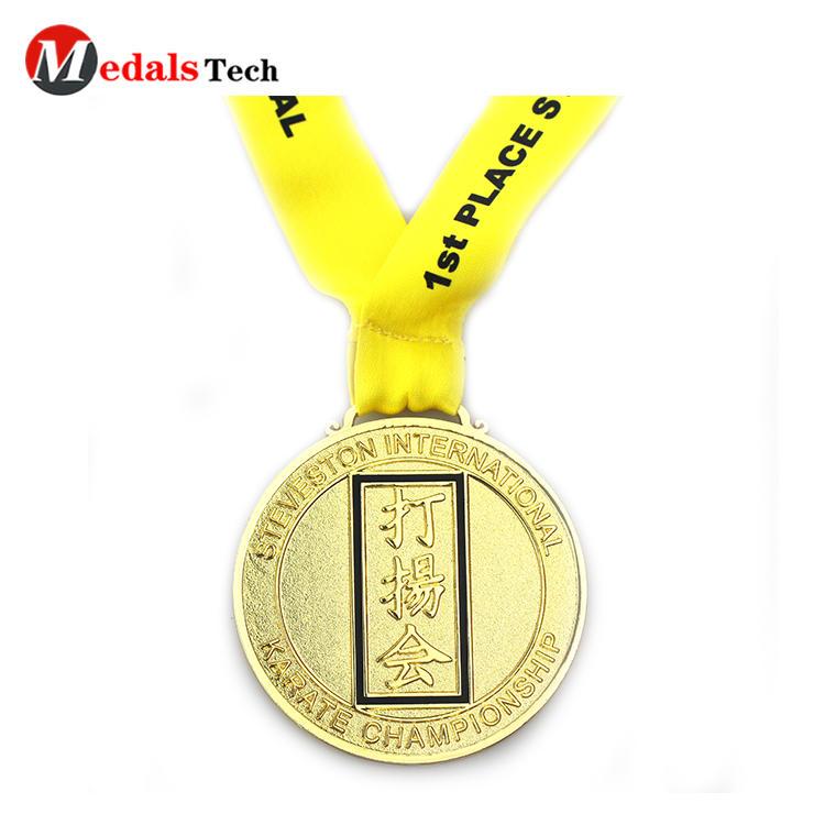 Best selling metal sport finisher souvenir medals for halloween