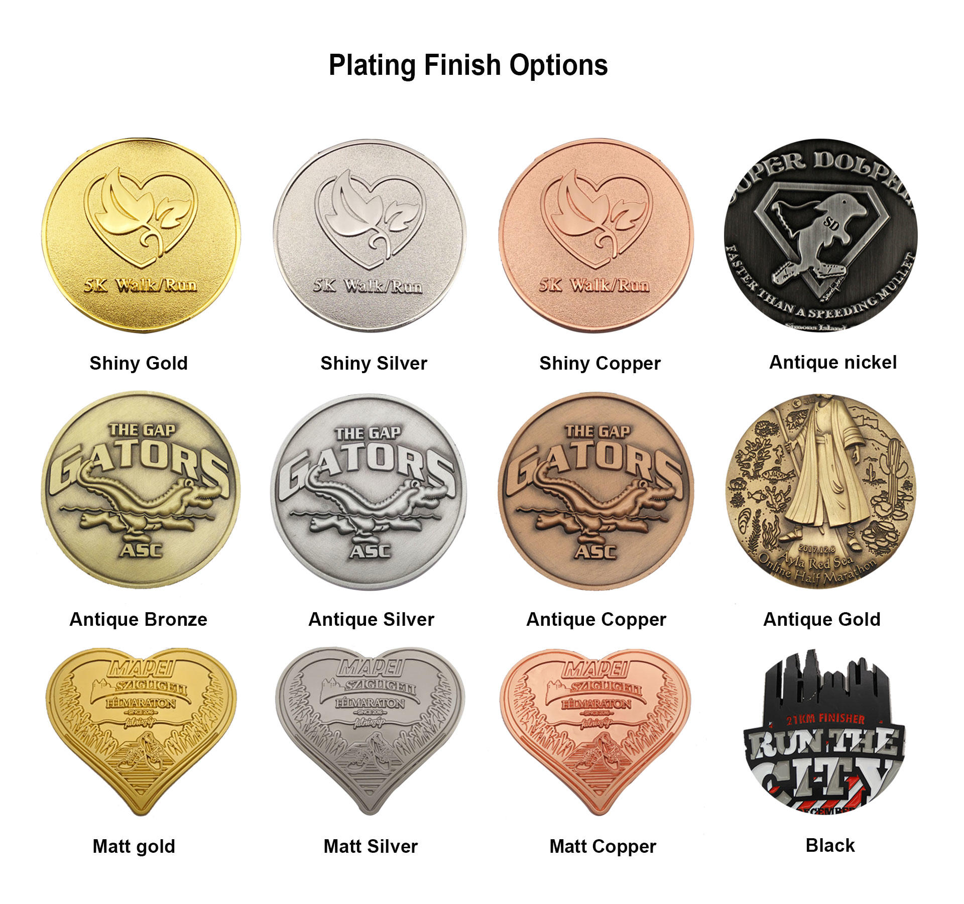2020 Good quality custom military 3D antique nickel silver plating souvenir sports metal competition cheer medal