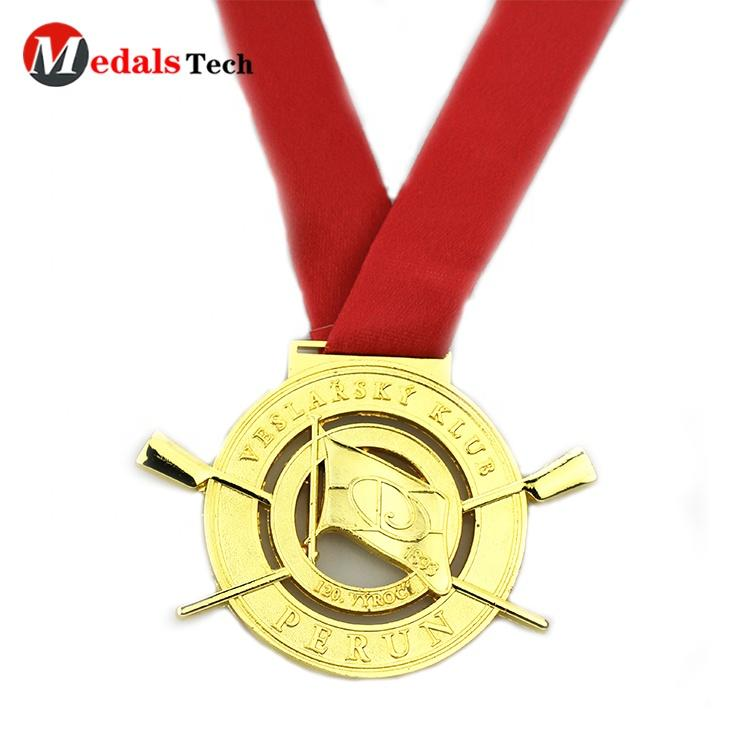 Factory price antique coin trophies classic cross shape engraving laser logo custom military medal