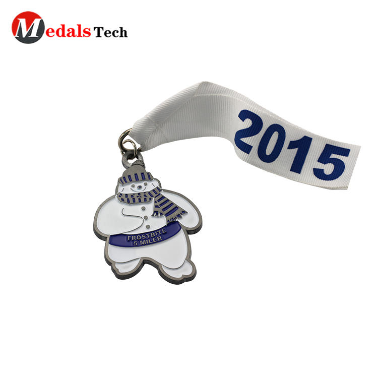 Cheap custom shinny gold enamelcycling sports awards medal