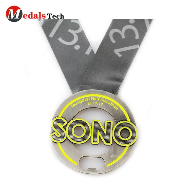 2021 new design cheap soft enamel souvenir metal antique nickel 3d embossed logo custom gymnastics medals