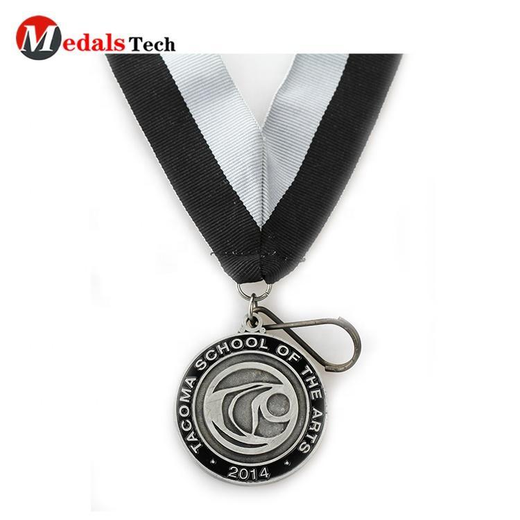 Cheap custom old gold make metal award souvenir antique bronze custom sports medal