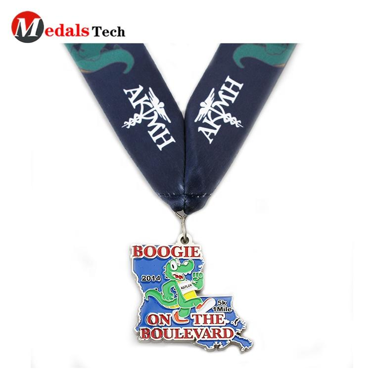 ProfessionalChina supplier souvenir craft health couple family public welfare run custom metal medal