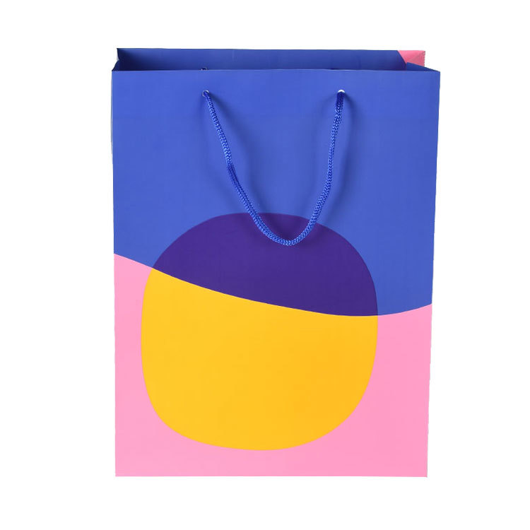 Customized Print Folding Portable Plastic Shopping Bag with Brand Name Logo