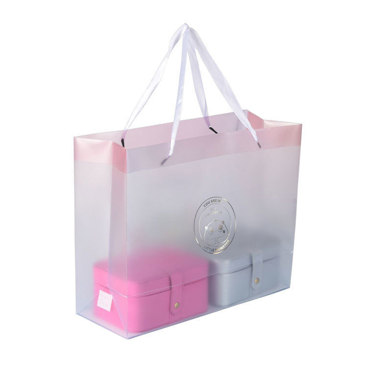 Top Quality Promotional Handled Style Foldable Reusable Shopping Pp Bag Foldable Pp Shopper Tote Gift Bag