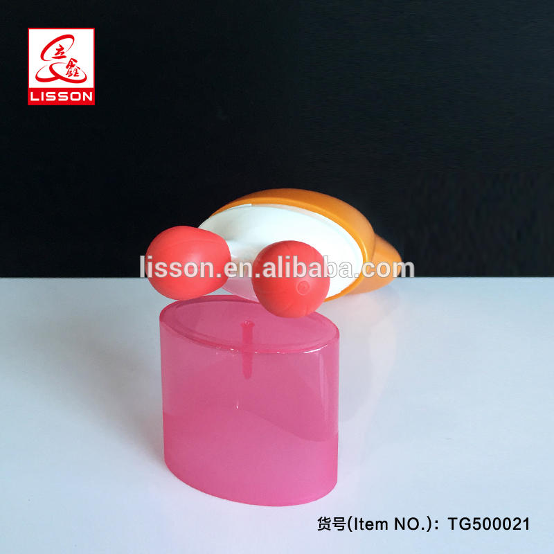 silicone Double Roller Massage container