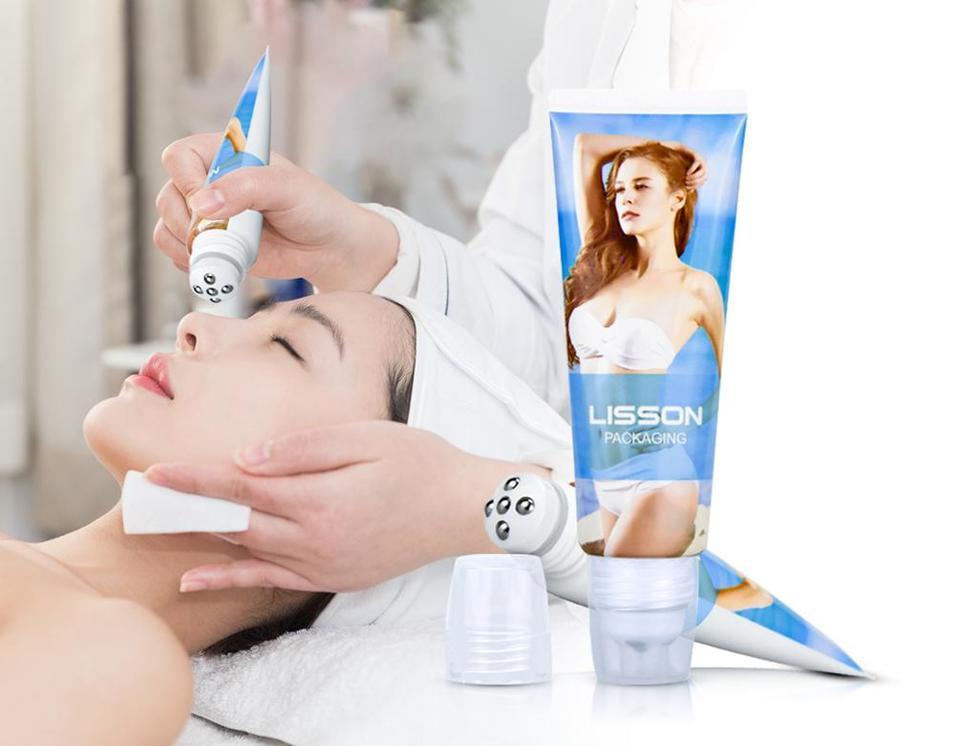 New Model five balls roll on tube foundation tube for charming bust cream