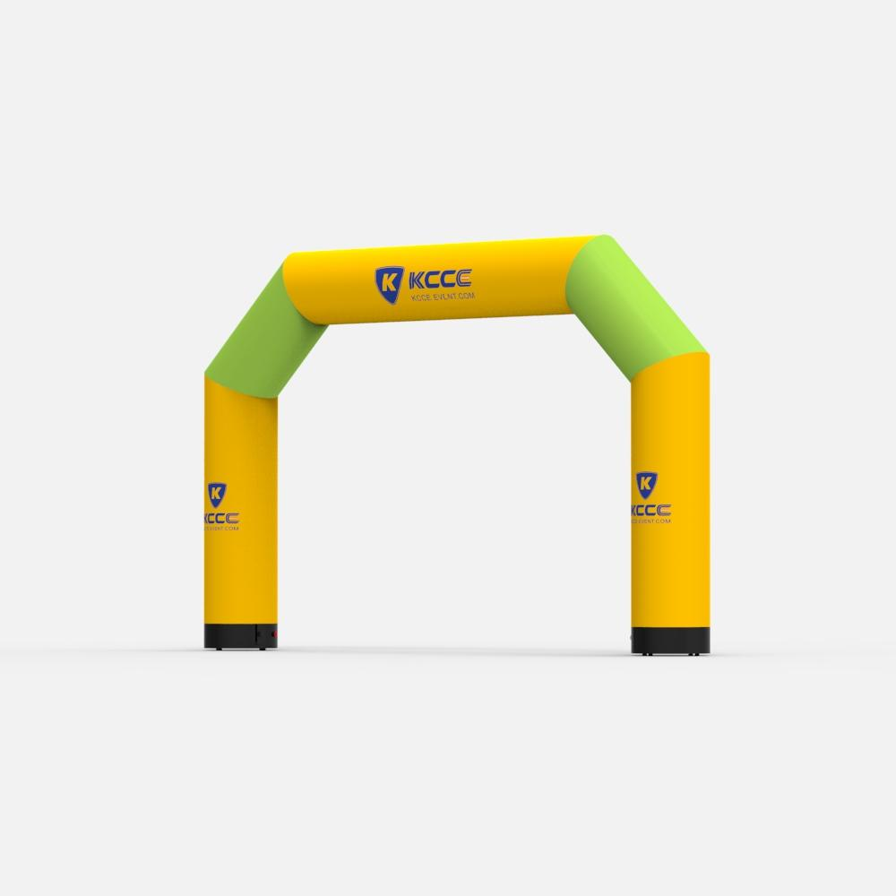 6M TPU double layers Durable inflatable racing arch, inflatable truss arch //