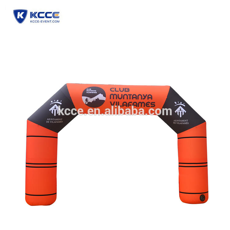 Customized inflatable arches, inflatable start finish line, Race Arches UK