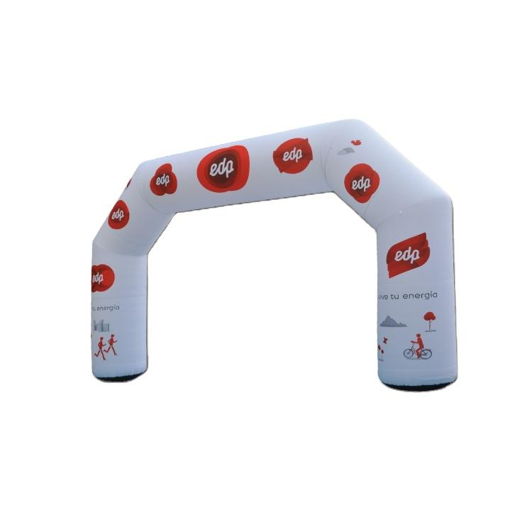 Outdoor advertising inflatable arch
