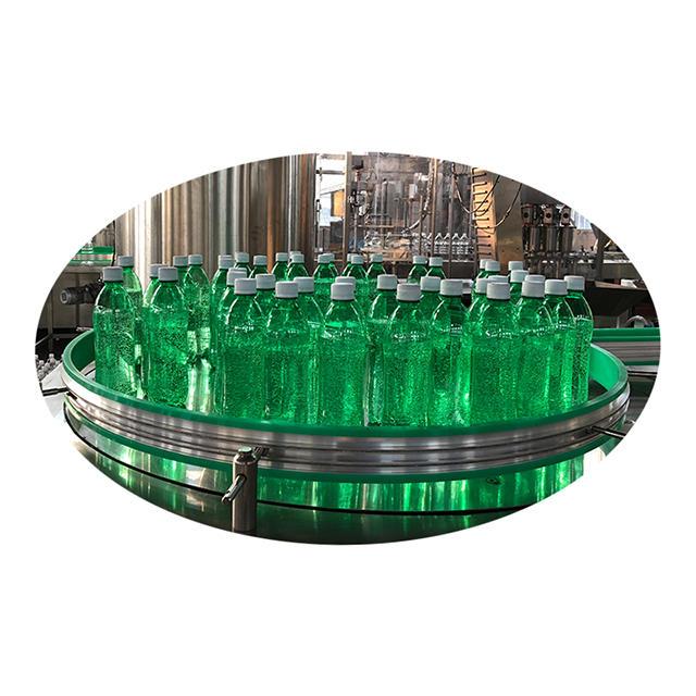 water line for producing bottles water JNDWATER liquid filling machine