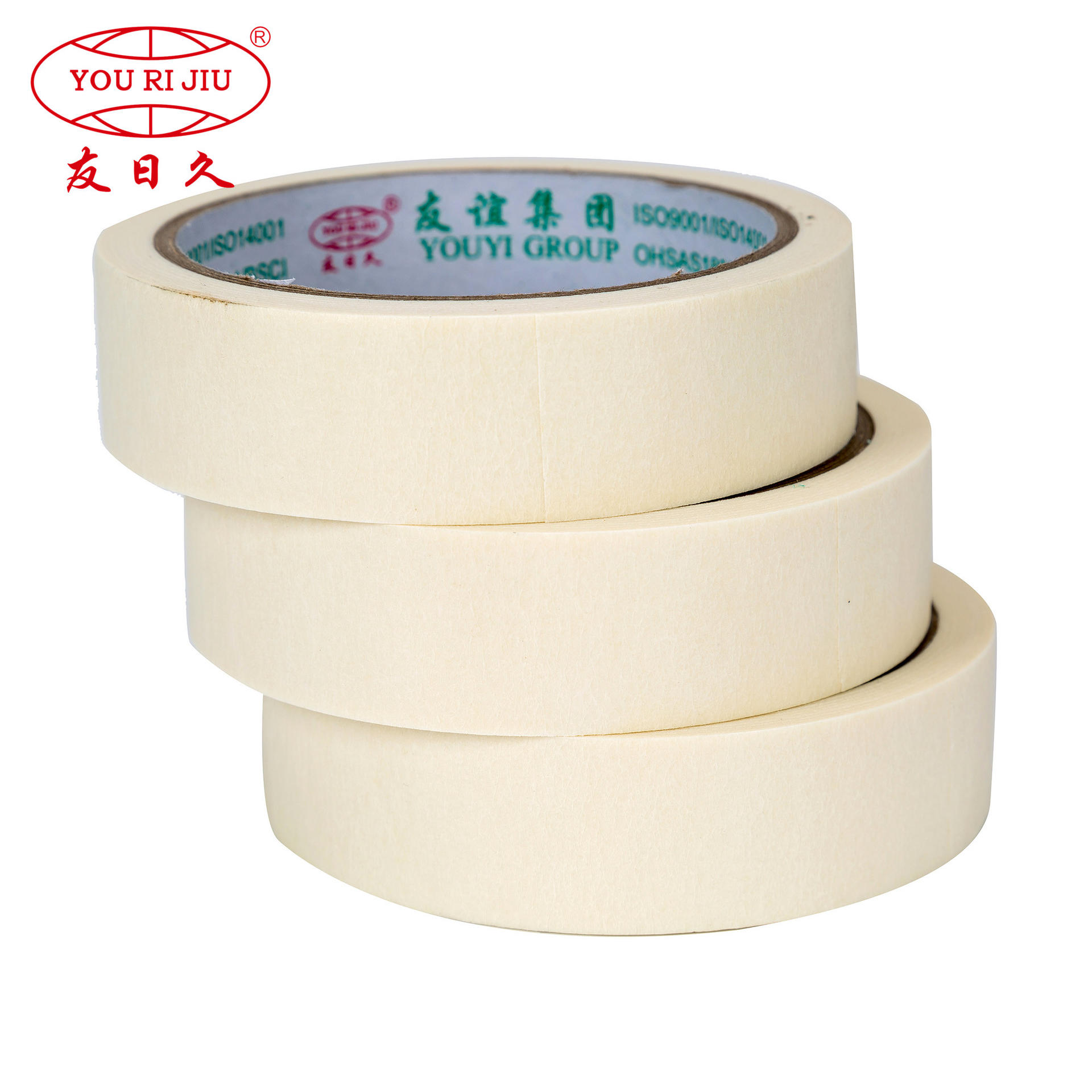 1270mm x 2000m economic masking tape jumbo roll