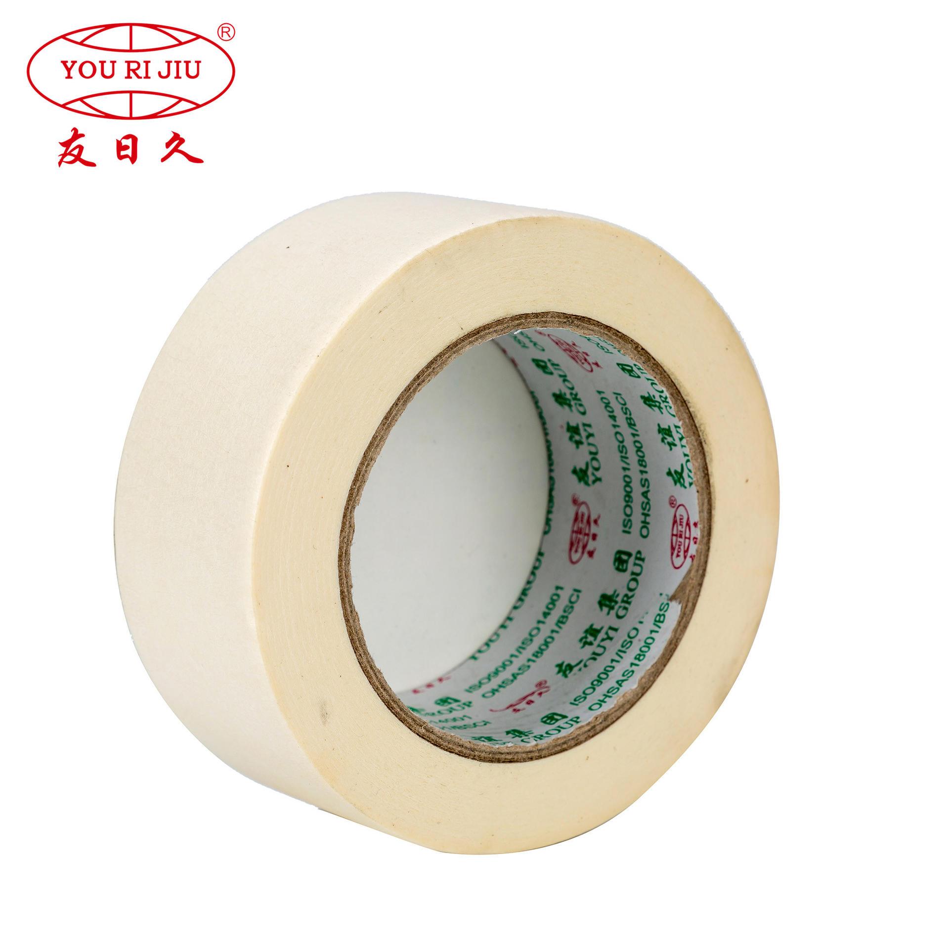 Wholesale custom automotive masking tape painting masking tape manufacturer