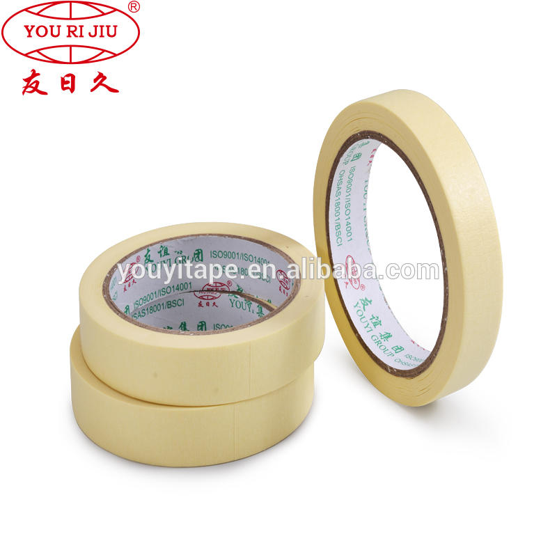 High Temperature car repair auto painting masking tape