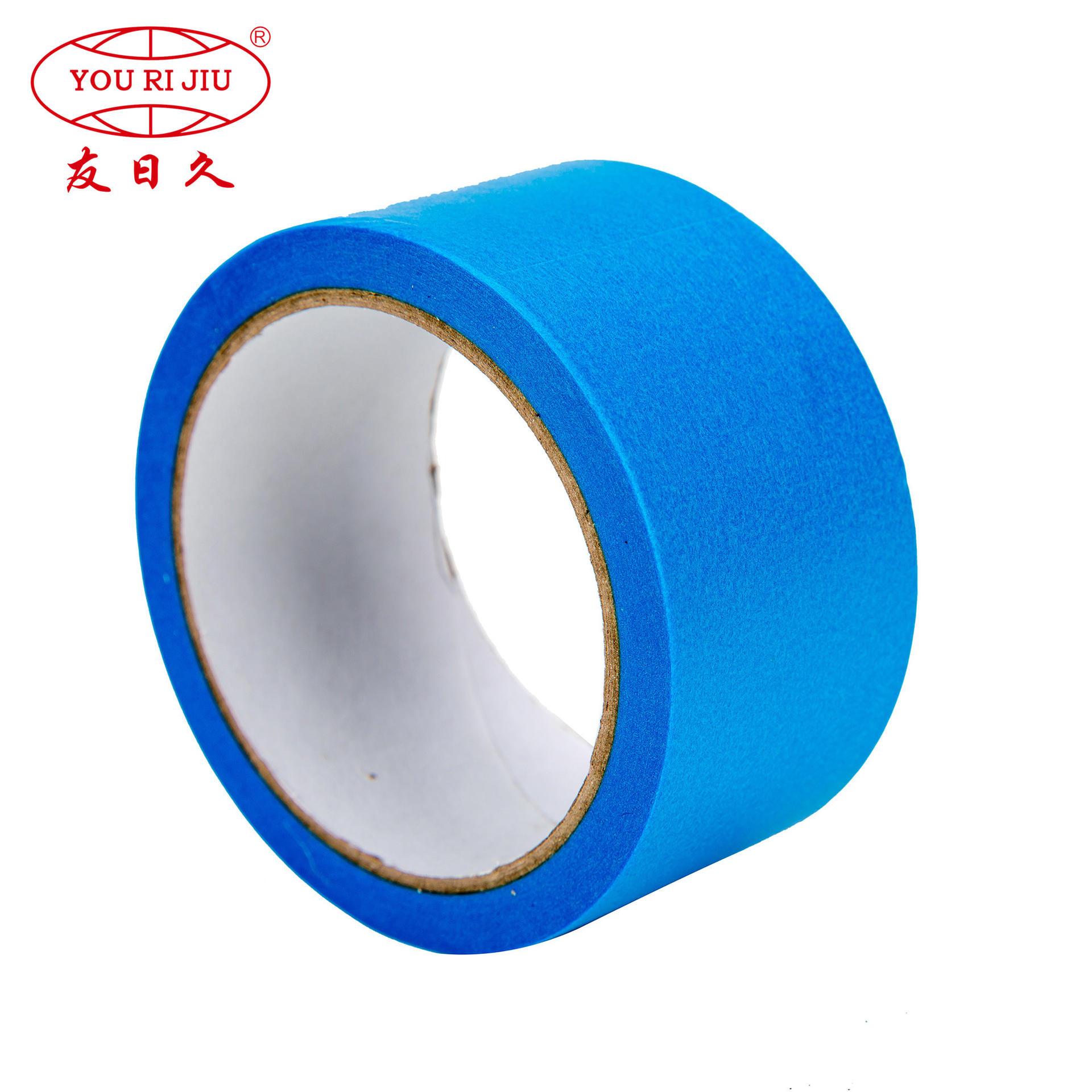 Crepe Paper Blue Masking Tape for General Degree Home Decoration
