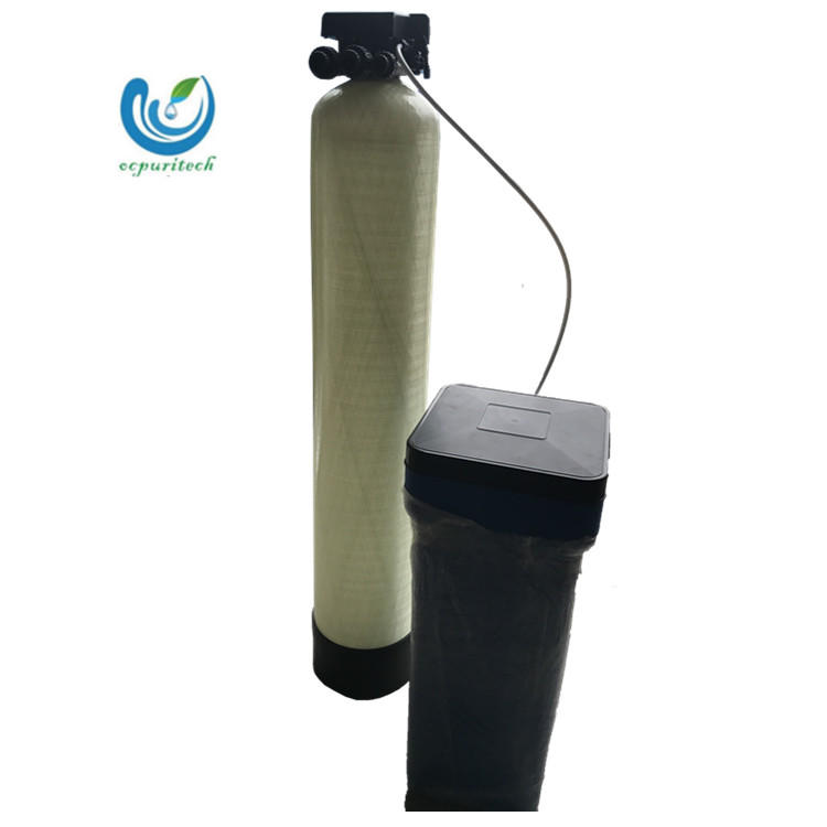 1TPH Automatic Fiber Glass Tank Water Softener for Ion Exchange