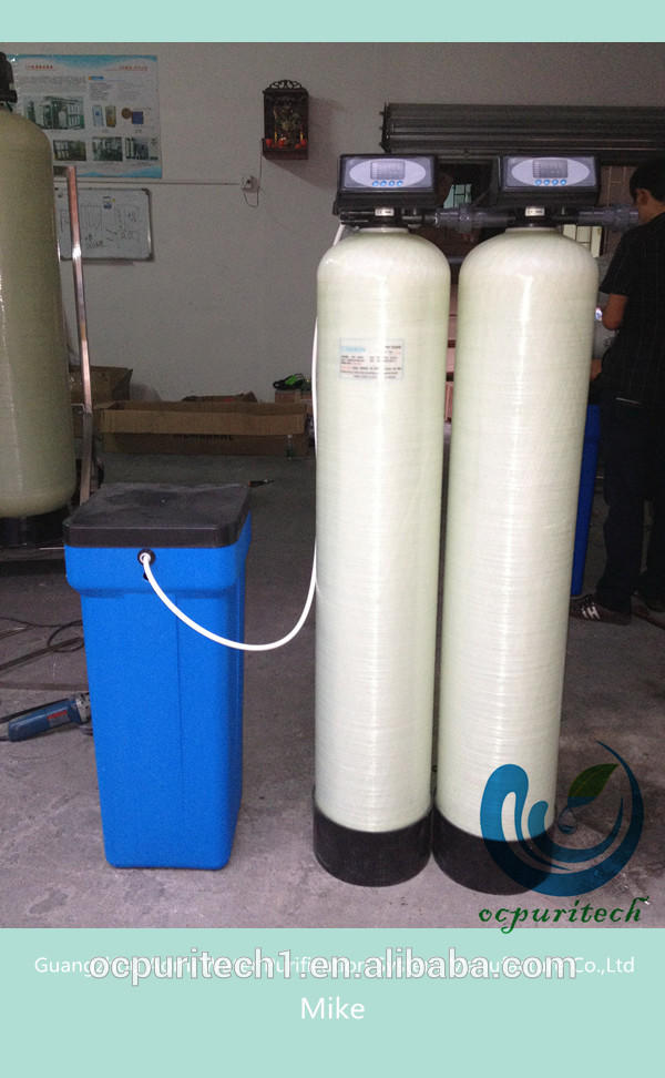 RO water treatment with hard water softener plant