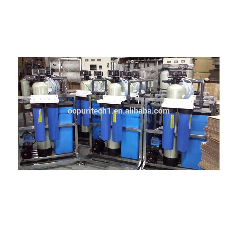 1000L/h Ion Exchange Resin Water Softener for Remove Water Hardness