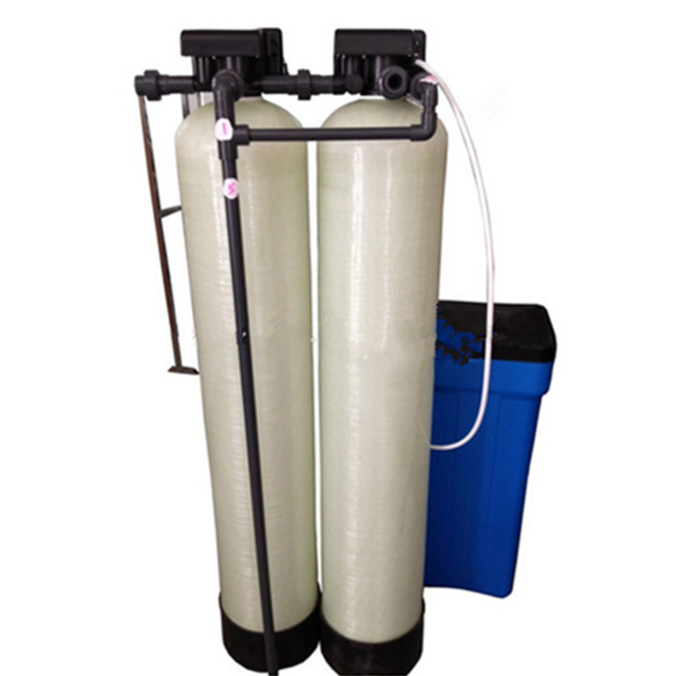 Small domestic electronic water softener