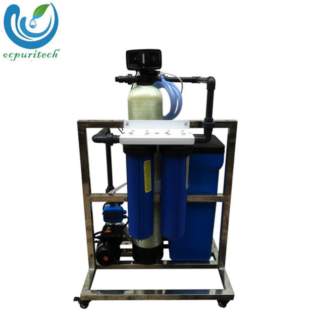 Water Softener Water Treatment Fillter Plant with FRP tank