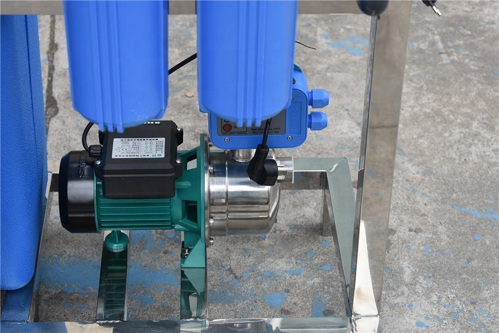Automatic valve 500LPH water softener treatment for hard water