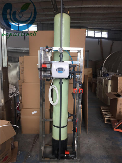 700-1000lph ion exchange resin tank filter price for food and beverage